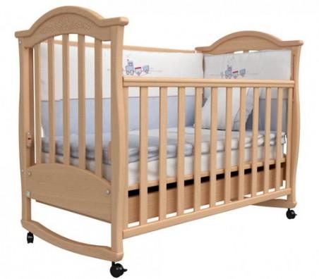Детская кроватка Соня ЛД из экологически чистых материалов