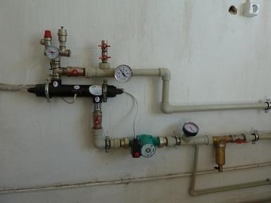 Електричний водогрійний модуль опалення